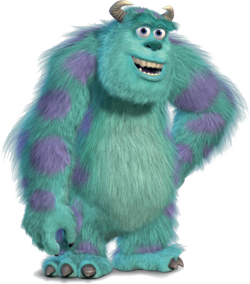 Monsters inc cutout